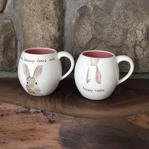 Rae Dunn bunny mugs